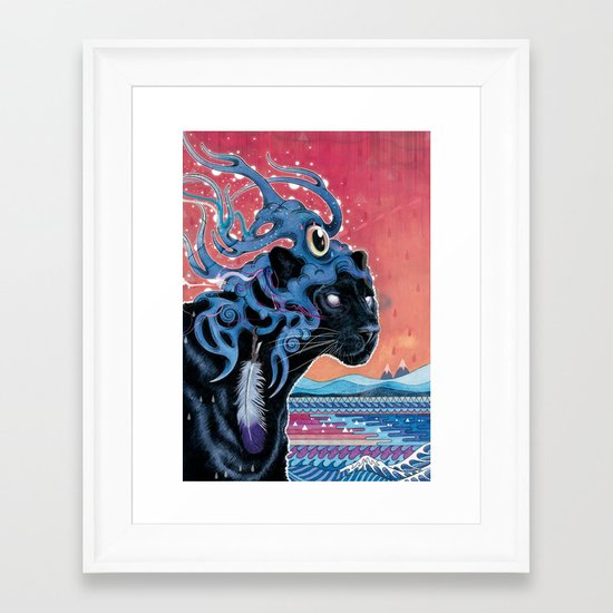 Farseer Framed Art Print