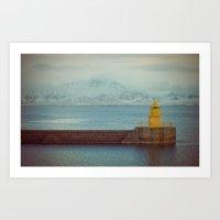 Harbourside Art Print