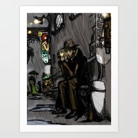 Halogen Dreams Art Print