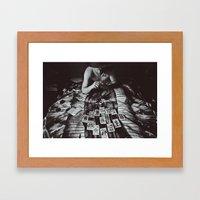 Phantom Farmer Framed Art Print