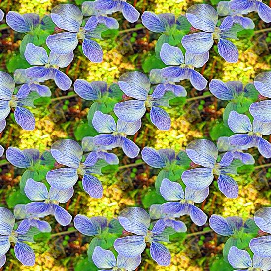 Floral Cascade Art Print