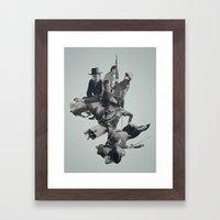 Rib Cage Framed Art Print