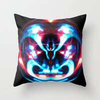 Sphere I (Staring) Throw Pillow