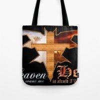 Heaven & Hell Bat Tote Bag