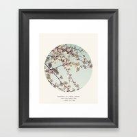 Fresh Woods Framed Art Print