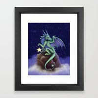 Dragon Star Framed Art Print