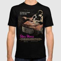 Star Wars X Drive Mens Fitted Tee Black SMALL