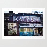 Katz's Art Print