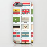 Vintage World Flags iPhone 6 Slim Case