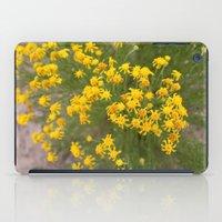 Yellow Wild Flowers iPad Case