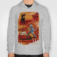 Defeating The Black Mons… Hoody