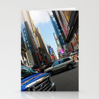 New York City Time Square NYC Stationery Cards