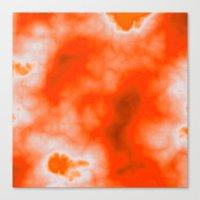 Orange Essence  Canvas Print