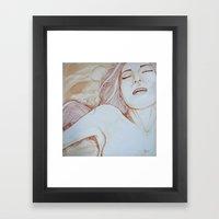 Filling the void Framed Art Print