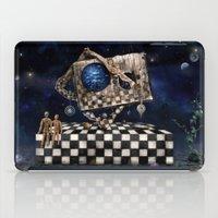 Aqua Space iPad Case