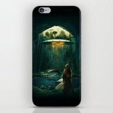 green layer iPhone & iPod Skin