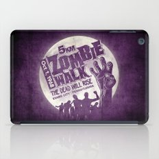 Zombie Walk iPad Case