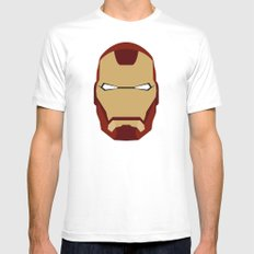 IRONMAN White Mens Fitted Tee SMALL