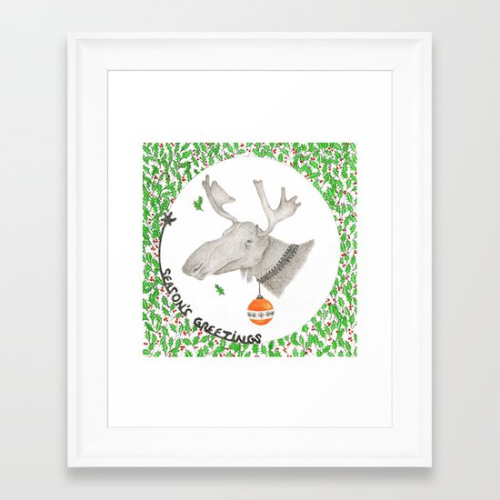 CHRISTMAS1 Framed Art Print