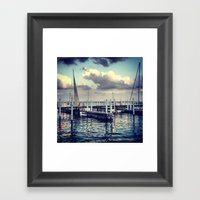 Chicago Harbor Framed Art Print