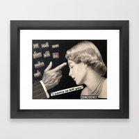 Modern Angle Framed Art Print