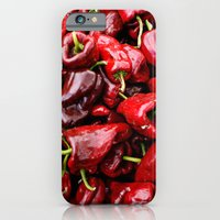 iPhone & iPod Case featuring Spicy Red by IstariDanae
