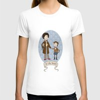 Dr Who Fangirls Womens Fitted Tee White SMALL