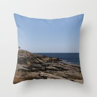 Prouts Neck, Maine Throw Pillow