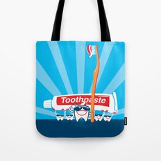 Teeth on Parade Tote Bag