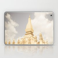 Pha That Luang Temple Laptop & iPad Skin