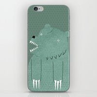 Friendly Bear iPhone & iPod Skin