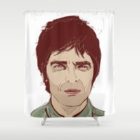Noel Gallagher Shower Curtain