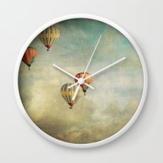 Painting Thoughts Wall Clock