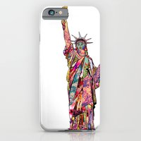 The French Gift: Statue … iPhone 6 Slim Case