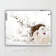 kylie and the butterlies  Laptop & iPad Skin