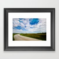 Take The Road Less Trave… Framed Art Print