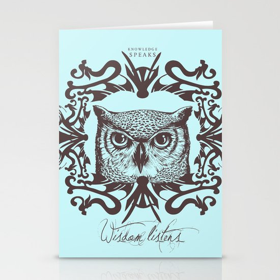 Wisdom Listens Stationery Card