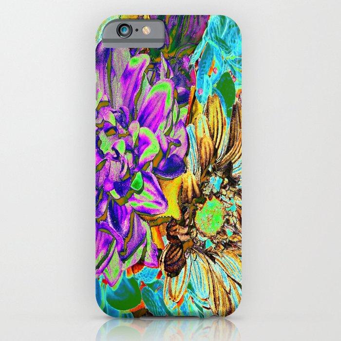 Neon Flower Magic iPhone u0026 iPod Case by RokinRonda : Society6