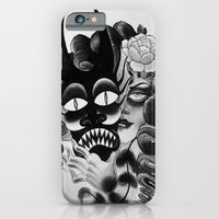 iPhone & iPod Case featuring Masked by kate collins