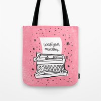 Write Your Own Story. Tote Bag