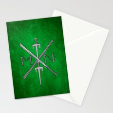 Weapons Down - TMNT Stationery Cards