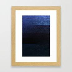 Erosion Framed Art Print