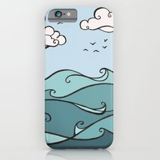 Clouds and Waves iPhone 6s Slim Case