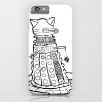 iPhone & iPod Case featuring Dalekitty by Mia Resella