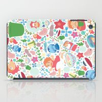 Ponyo Pattern - Studio Ghibli iPad Case