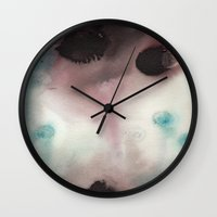 M I S T Wall Clock