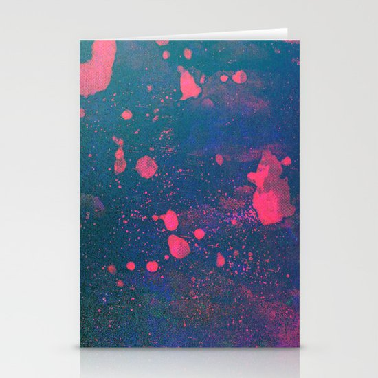 Untitled 20110307a (Abstract) Stationery Card