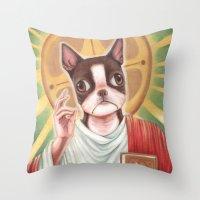 IL SALVATORE Throw Pillow