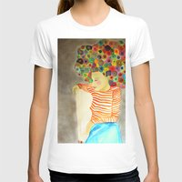Marion Womens Fitted Tee White SMALL