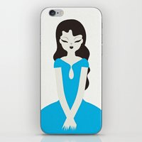 Blue Dress iPhone & iPod Skin
